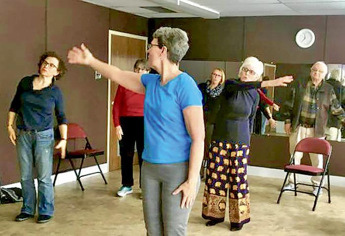 Meeting Place Sharing Dance Seniors