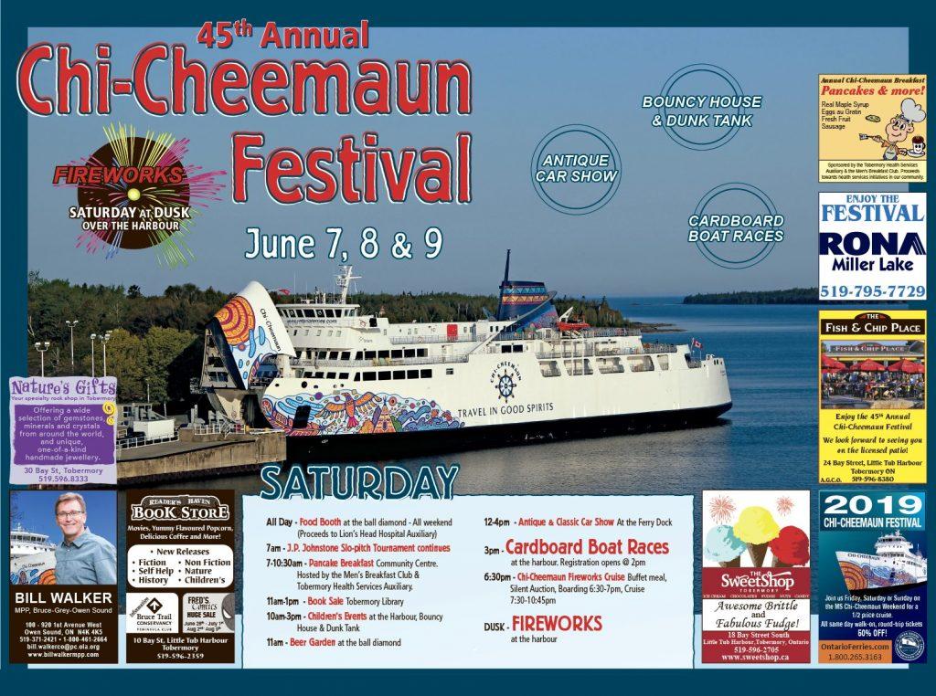2019 Chi-Cheemaun Festival | Bruce Peninsula Press